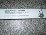 Monumental Dental Bamboo Toothbrush